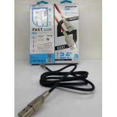 کابل تبدیل USB بهUSB-C کینگ استار مدل K37C طول 1 متر(گارانتی تاپایان مهر1400)