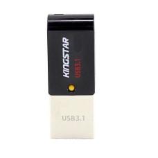 فلش مموری کینگ استار مدل S30 Dual 3 ظرفیت 64 گیگابایت همراه با گارانتی مادامالعمر داده پرداز رایانه متین