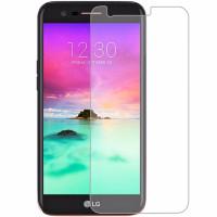 محافظ صفحه نمایش شیشه ای مناسب برای گوشی موبایلLG K10 2017