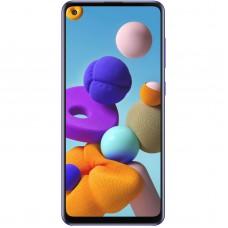 گوشی موبایل سامسونگ مدل Galaxy A21S دو سیمکارت ظرفیت 64 گیگابایت و رم 4 همراه گارانتی 18ماهه(جهت آگاهی ازنام گارانتی گوشی موبایل با پشتیبانی تماس بگیرید)